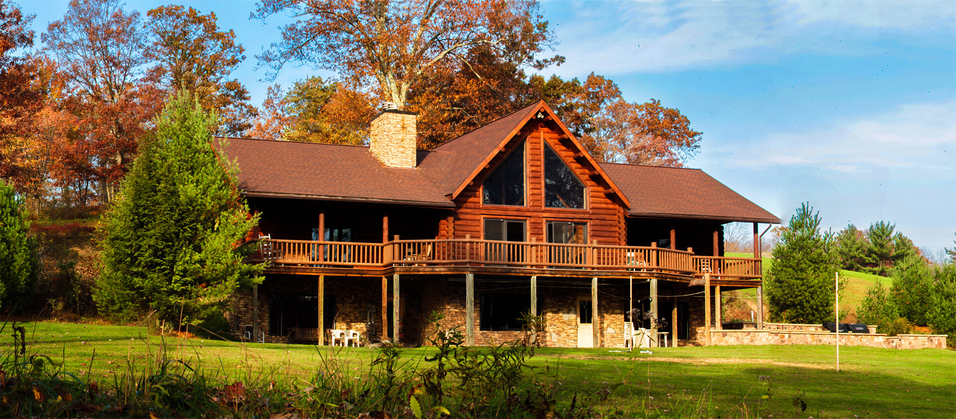 Ponderosa Lodge Cabin Rental Clintin County PA